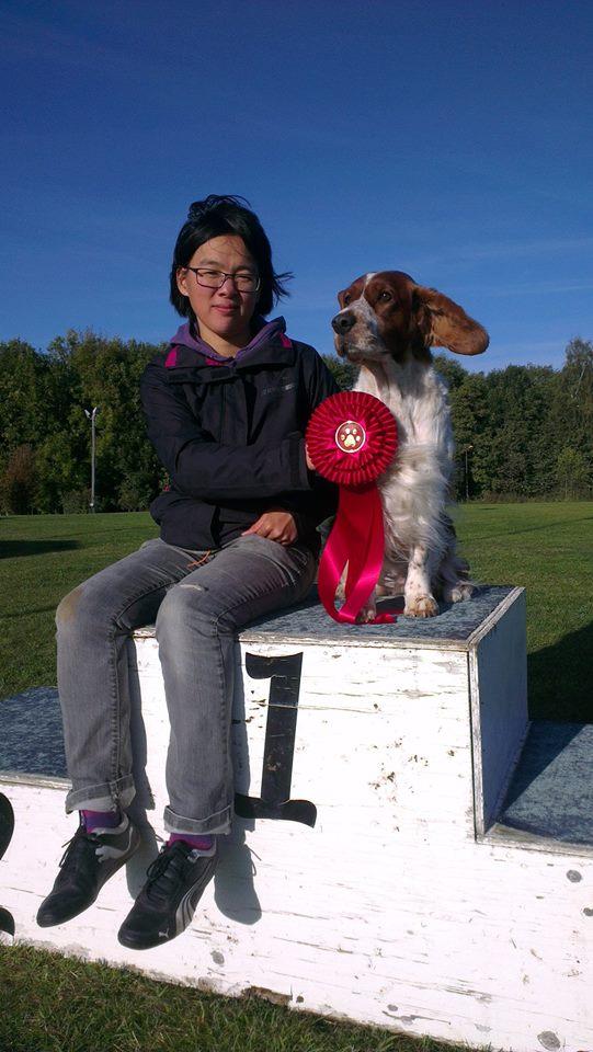 Kira & Jojo klubbmästare i agility 2014